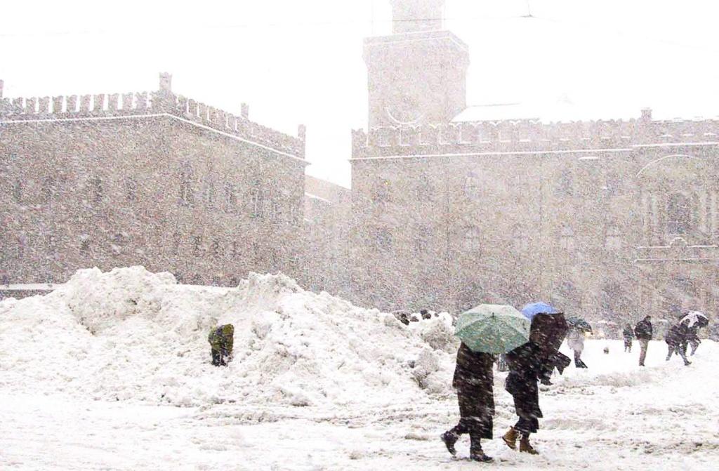 Зима на Площади Маджоре. Автор: lina menazzi. Фото:  www.flickr.com