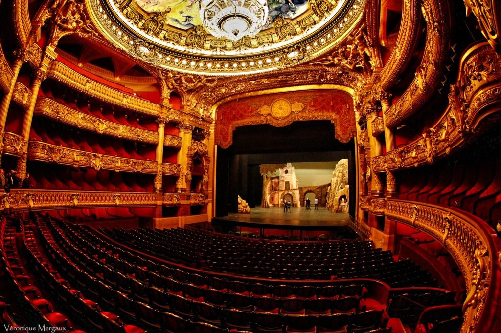 Зрительный зал. Автор: Veronique Mergaux. Фото:  www.flickr.com