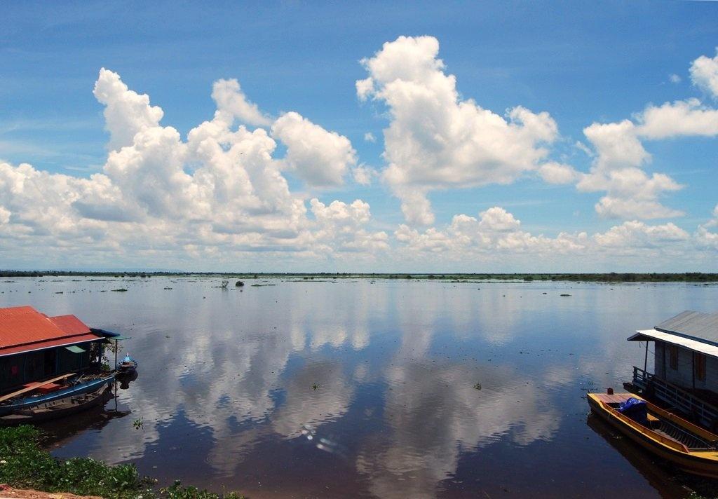 Озеро Тонлесап. Автор: jenniferphoon. Фото:  www.flickr.com