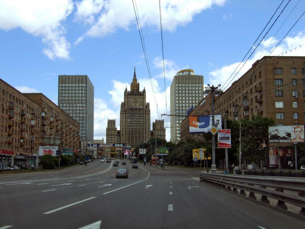 Здание МИДа   Фото:  moscow-live.ru