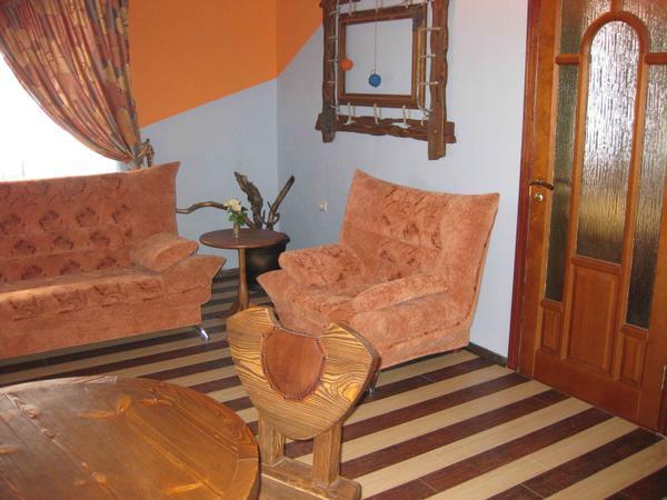 Номер «Люкс» двухкомнатный. Фото: m-hotel.info