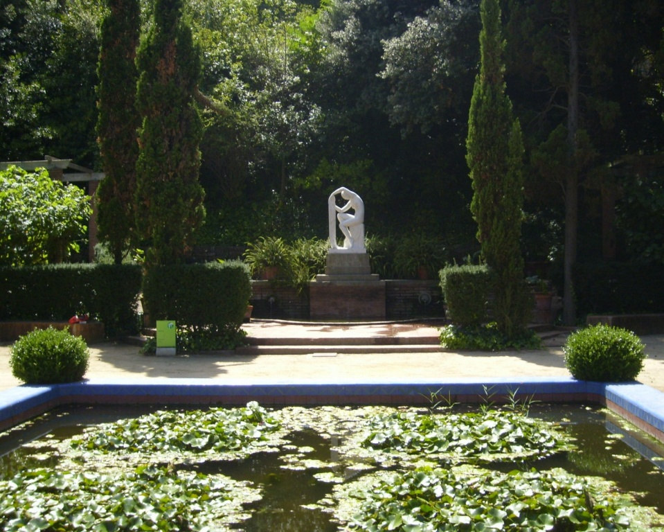 Jardins de Laribal. Автор: Oh-Barcelona.com. Фото:  www.flickr.com