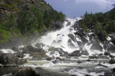 Водопад Учар (Большой Чульчинский)