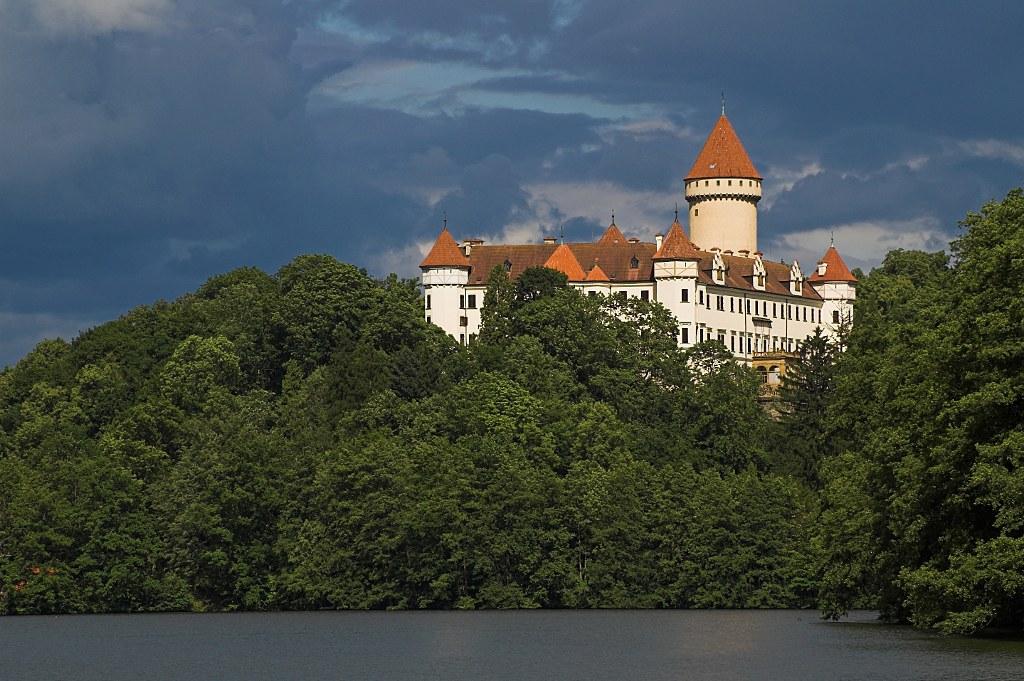 Вид на замок Конопиште. Автор: MarekP. Фото:  www.flickr.com