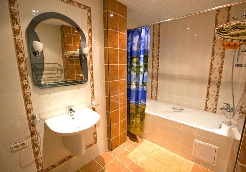 Ванная комната в Люксе.