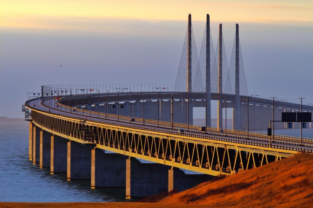 Эресуннский мост. Автор: Hakan Dahlstrom. Фото:  www.flickr.com