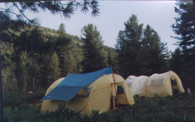 Палаточный лагерь. Фото: www.rodnikltd.ru