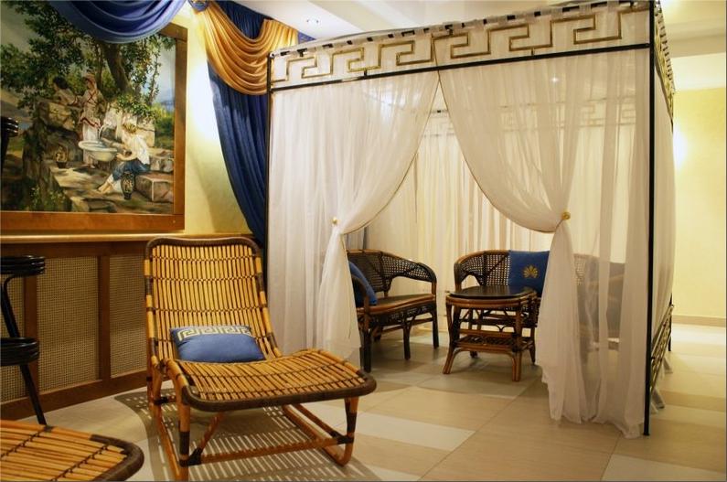 Греческий зал. Фото. Фото: www.hotel-snow.ru