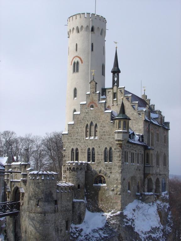 Замок Лихтенштейн. Автор: Toabi. Фото:  www.flickr.com