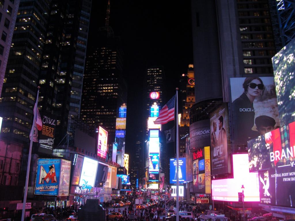 Таймс Сквер. Автор: vagueonthehow. Фото:  www.flickr.com