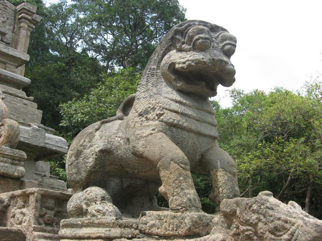 Скульптура льва. Автор: Mkularatne. Фото:  www.flickr.com