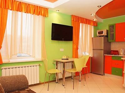 Квартира-студия VIP. Фото: hotelswww.podushka-lux.ru