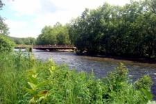 Река Коль, лососевый заказник