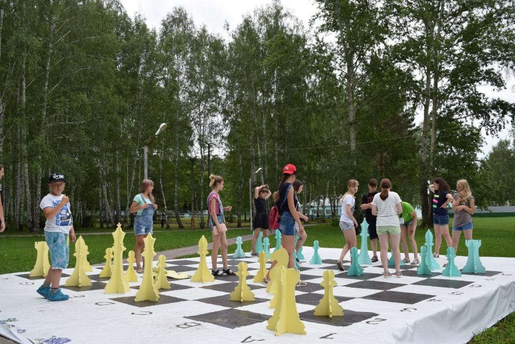Шахматы  в языковом лагере ИНТЕРЛЭНГ
