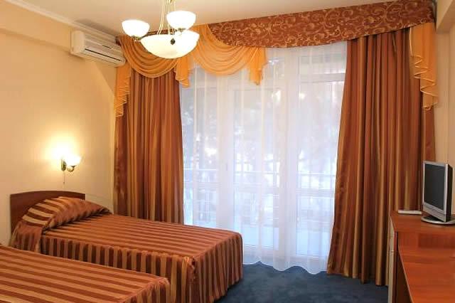 Интерьер номера. Фото: www.brigantina-hotel.ru