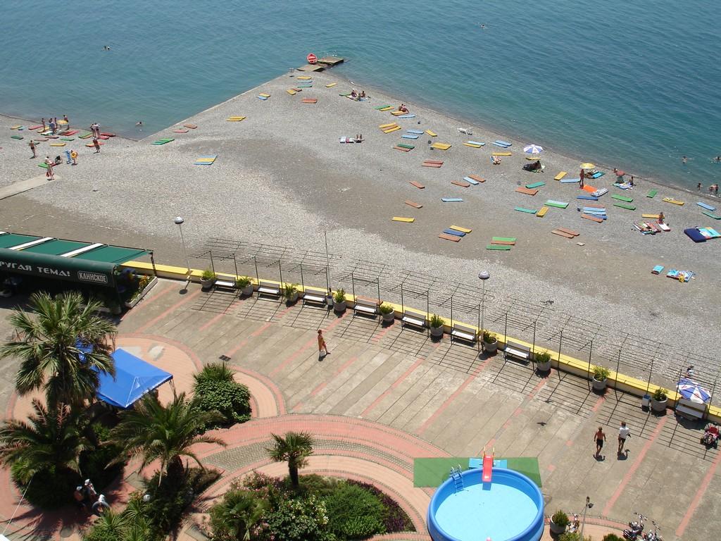 Пляж. Фото: www.olympdagomys.ru