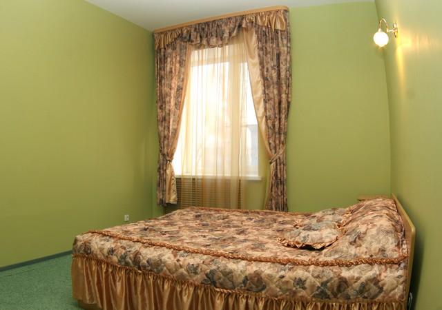 Спальня в номере VIP