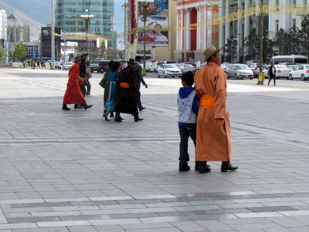Площадь Сухэ-Батор в г. Улан-Батор. Автор: David Berkowitz. Фото:  www.flickr.com