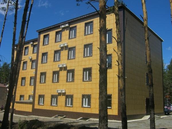 Корпус санатория «Алмаз». Фото: www.almaz.borovoe.kz