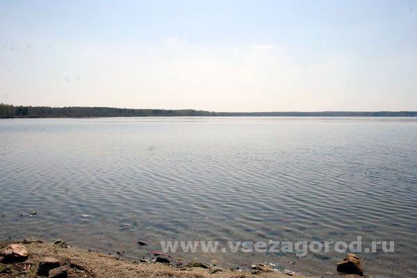 Пляж озера Былтым