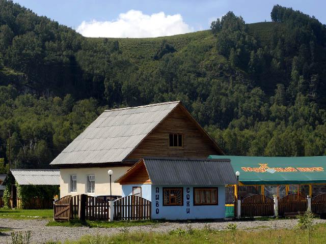 Вид на турбазу «Радужный берег». Фото: www.radbereg.ru
