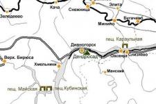 Дендросад в районе Старого скита