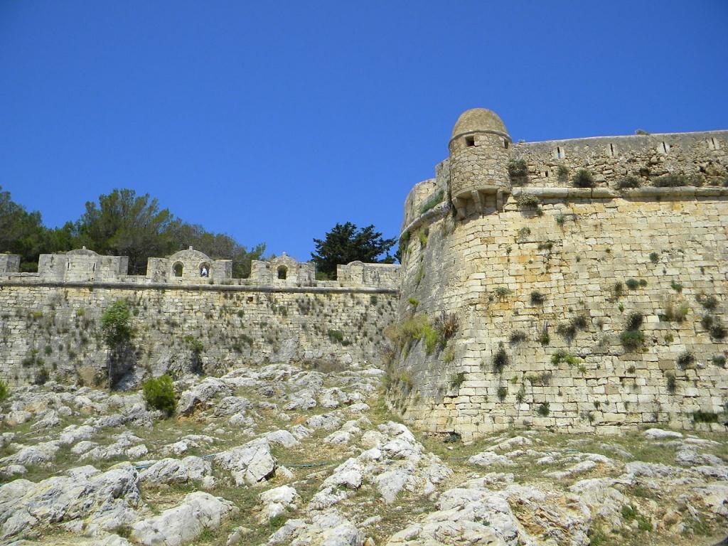 Венецианская крепость в Ретимнон. Автор: MonAmi. Фото:  commons.wikimedia.org