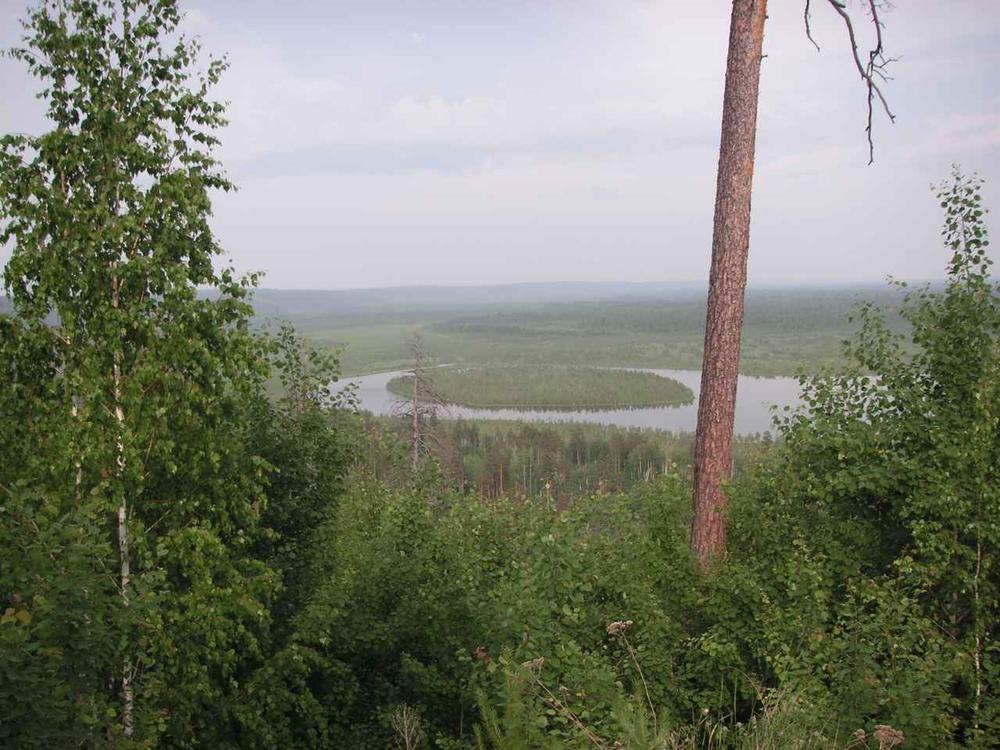 Вид на озеро Плахино. Фото: plachino.narod.ru