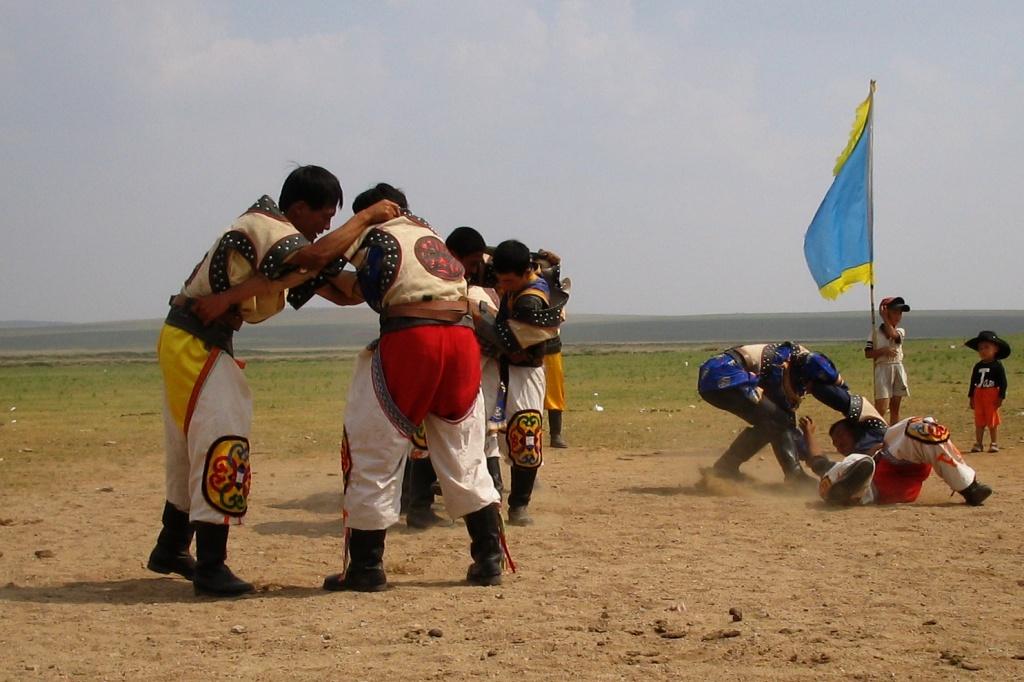 Рукопашная борьба. Автор:  mooney47. Фото:  www.flickr.com