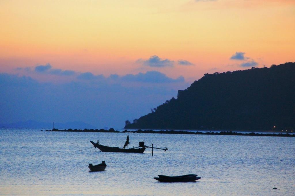 Ко Самуи, вечерее море. Автор: Роман Жайворон