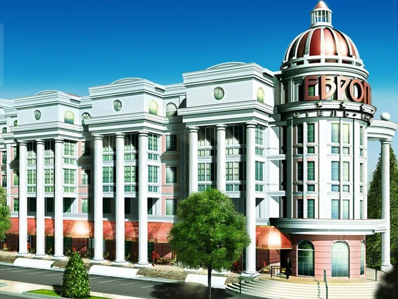 Фасад здания отеля «Европа». Фото: www.baikalguide.ru