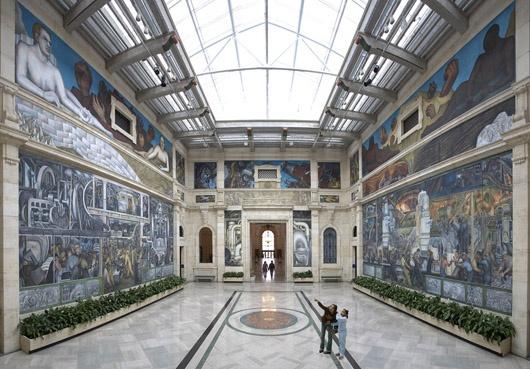 Институт Искусств Детройта  Фото:  americancities.ru