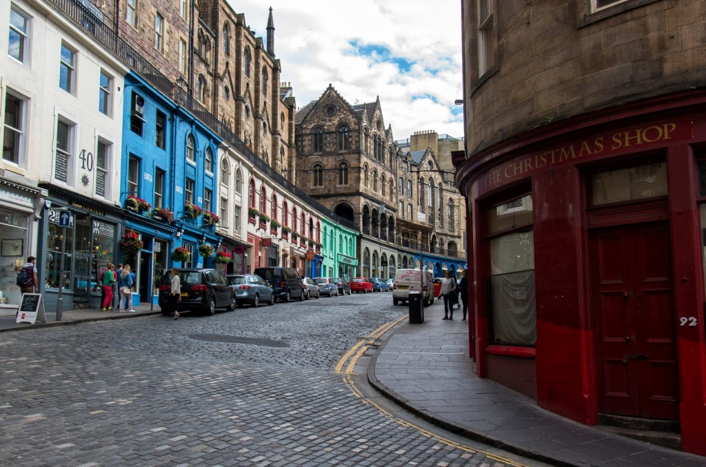 Виктория-стрит, Эдинбург. Автор: Raphaël Chekroun. Фото:  www.flickr.com