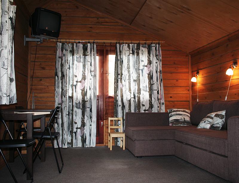 Жилая комната в Шале.