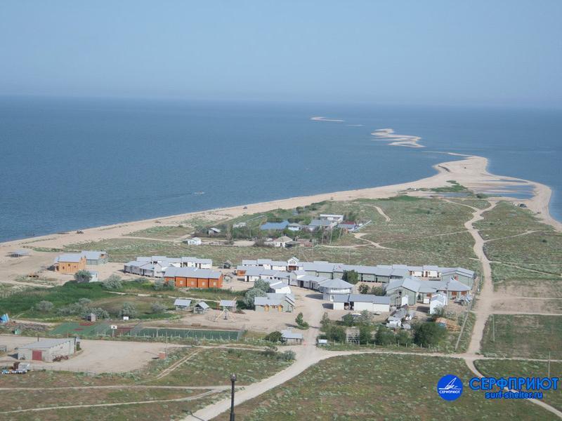 База отдыха «Серфприют», вид с высоты. Фото: www.surf-shelter.ru