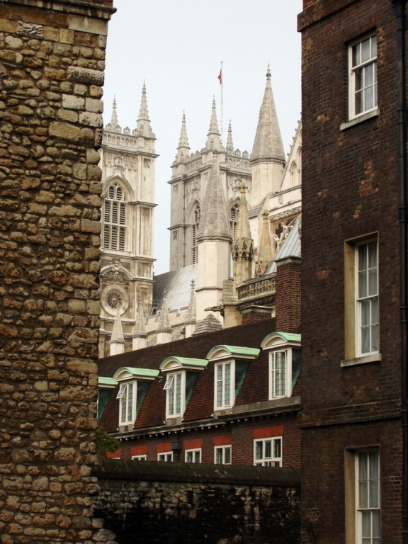Вид на Вестминстерское аббатство.  Фото:  tonkosti.ru