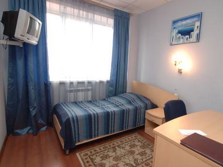 Стандартный одноместный номер. Фото: www.hotel-ulitka.ru