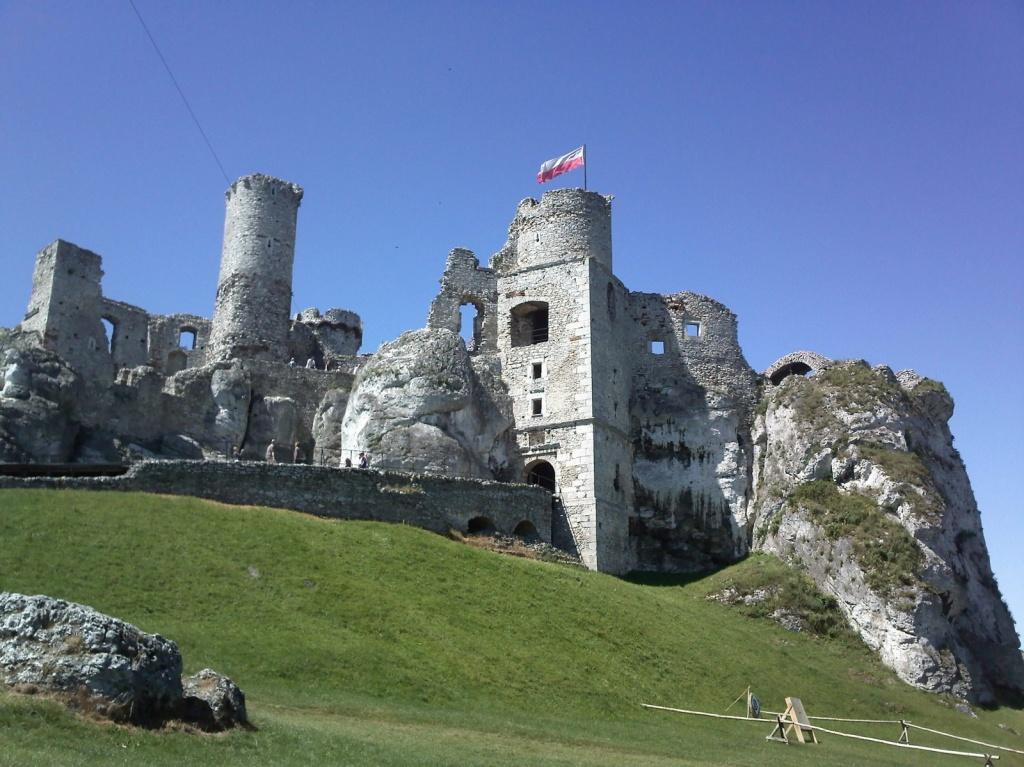 Руины рыцарского замка «Огродзенец». Автор: M.Gola. Фото:   wikimedia.org