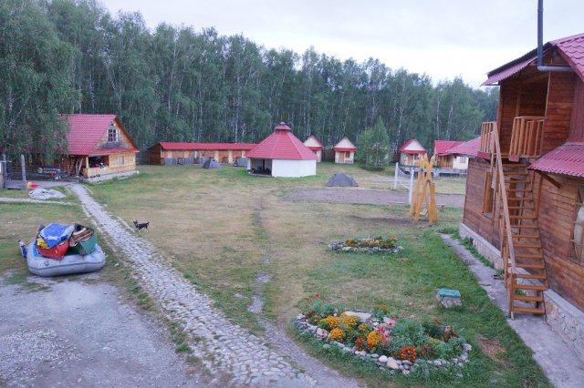 Территория базы отдыха. Фото: uymonskiy-kovcheg.ru