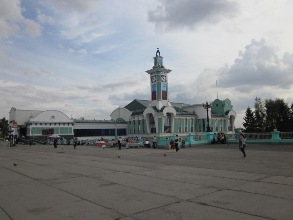 Пригородный железнодорожный вокзал «Новосибирск-Главный». Автор: Petr Adam Dohnálek. Фото:  commons.wikimedia.org