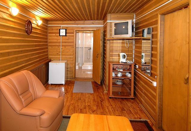 Комната отдыха в бане. Фото: www.sneg-dolina.ru