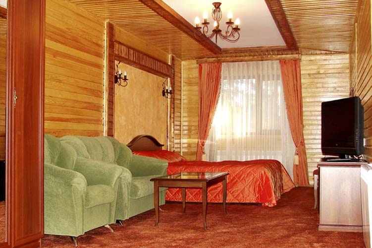 Номер «Полулюкс». Фото: www.hotel-arai.kz