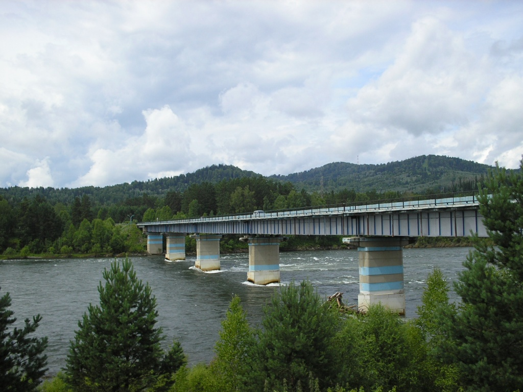 Верх-Бийский мост. Автор: Obakeneko. Фото:  www.flickr.com