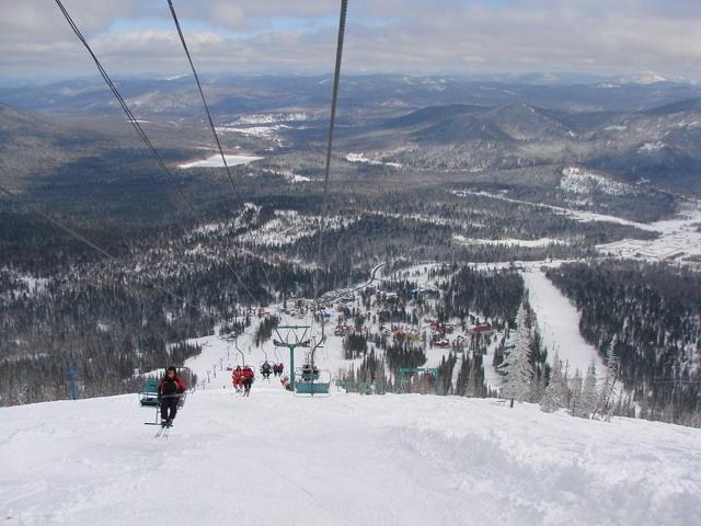 Вид с г. Зеленая. Фото: www.shoriasib.ru