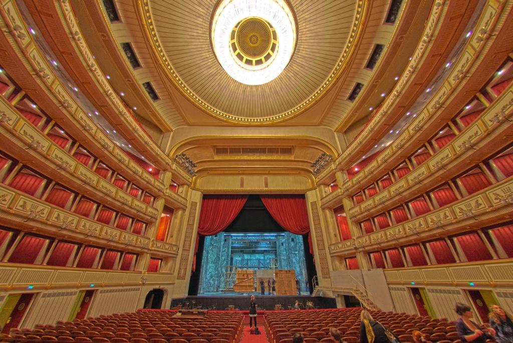 Картинка венский оперный театр