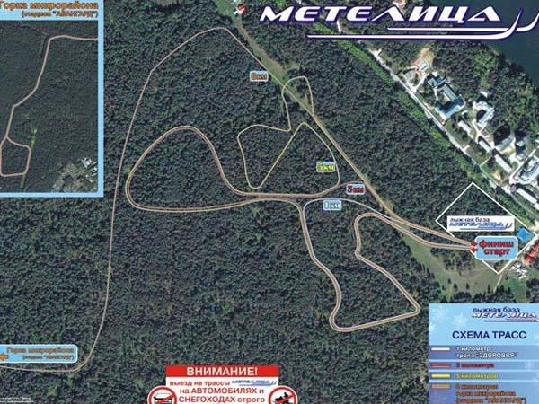 Схема трасс. Фото: www.metelitsa-berdsk.ru