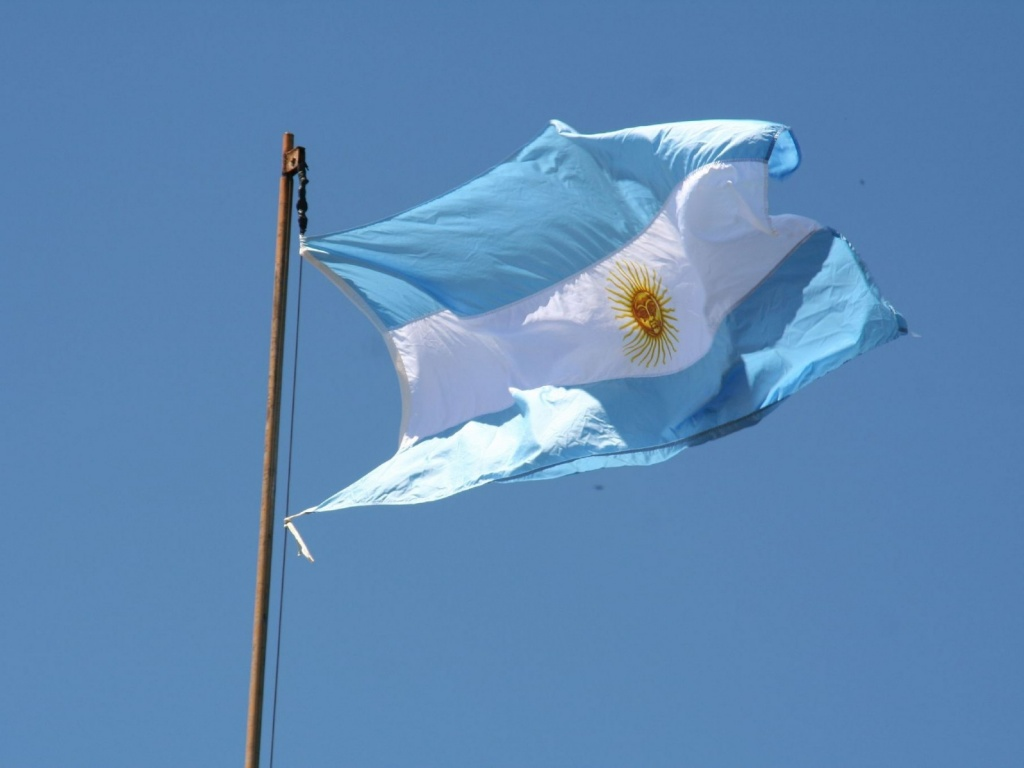 Флаг Аргентины. Автор: Quim Pagans. Фото:  www.flickr.com