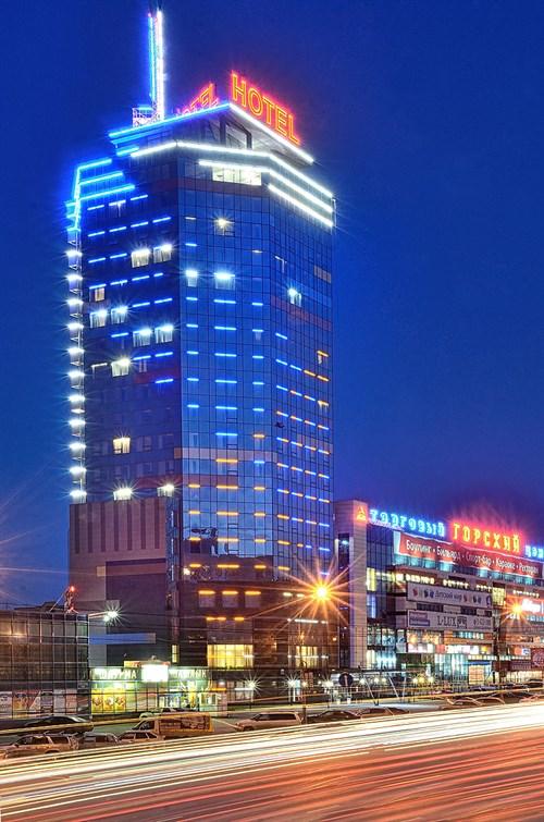 Здание отеля. Фото: gorskiycityhotel.ru