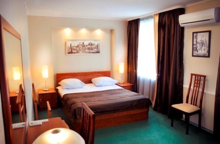 Апартаменты - спальня. Фото от представителей отеля.