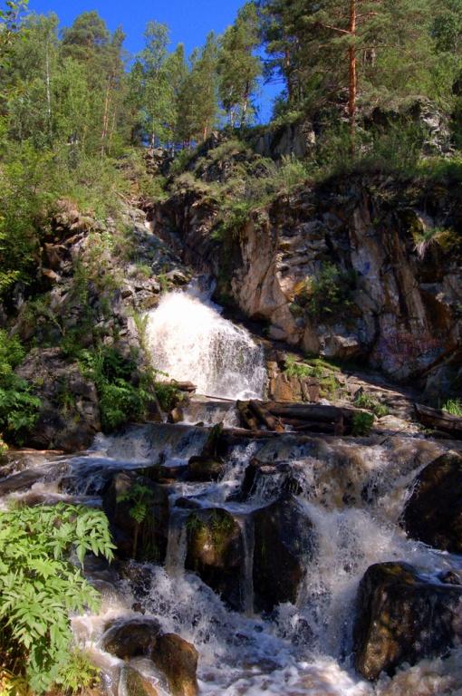 Камышлинский водопад.  Автор: Колосова Наталья
